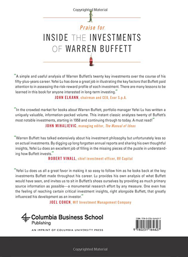 Inside-Investments-Warren-Buffett-Twenty-Cases-Yefei-Lu-book-backcover